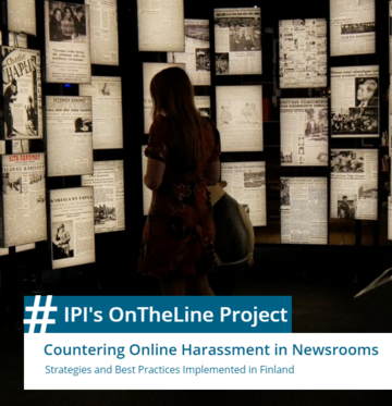 Countering Online Harassment in Newsrooms: Strategies and Best Practices implemented in Finland