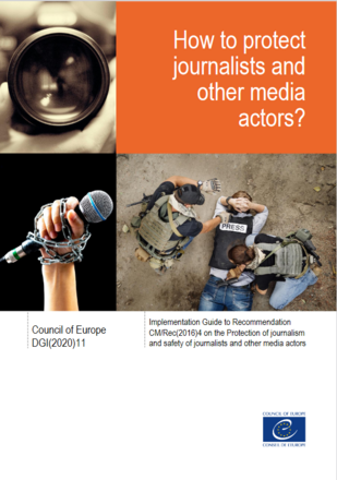 How to protect journalists and other media actors? Implementation guide