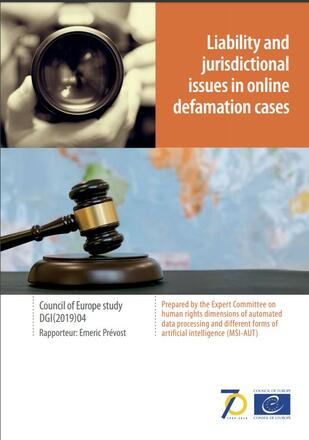 Liability and jurisdictional issues in online defamation cases