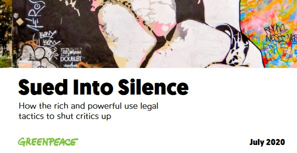 Sued Into Silence: How the rich and powerful use legal tactics to shut critics up