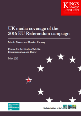 UK media coverage of the 2016 EU Referendum Campaign