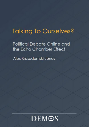 Talking to Ourselves? Political Debate  Online and  the Echo Chamber Effect