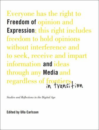 Freedom of expression and media in transition: studies and reflections in the digital age