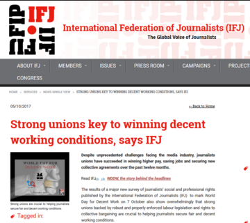 Strong unions key to winning decent working conditions