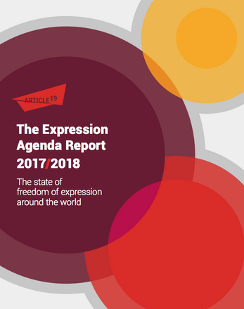 The Expression Agenda 2017/2018. The state of freedom of expression around the world
