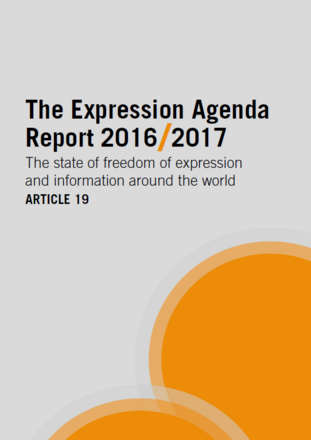 Article 19: The Expression Agenda - Report 2016/2017