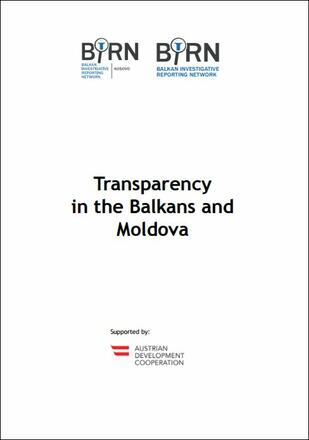 Transparency in the Balkans and Moldova