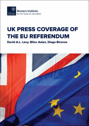 UK Press coverage of the Eu referendum